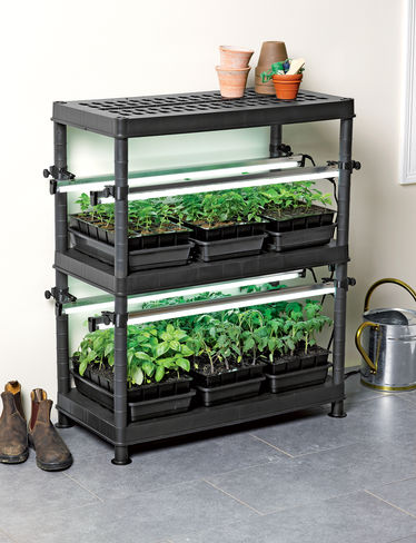 Modular Grow Light System: Stack n Grow from Gardener's Supply