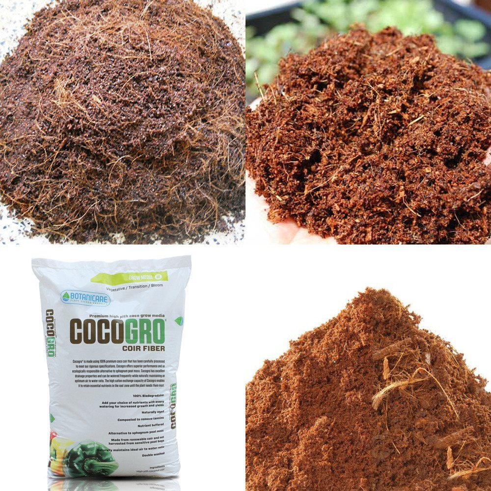 Coco coir from CocoGro with Tomato Dirt